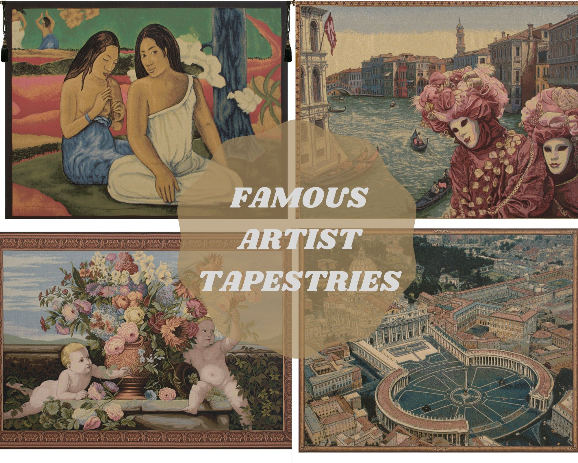 famous artist tapestry