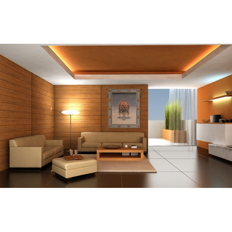 contemporary tapestry wall hanging