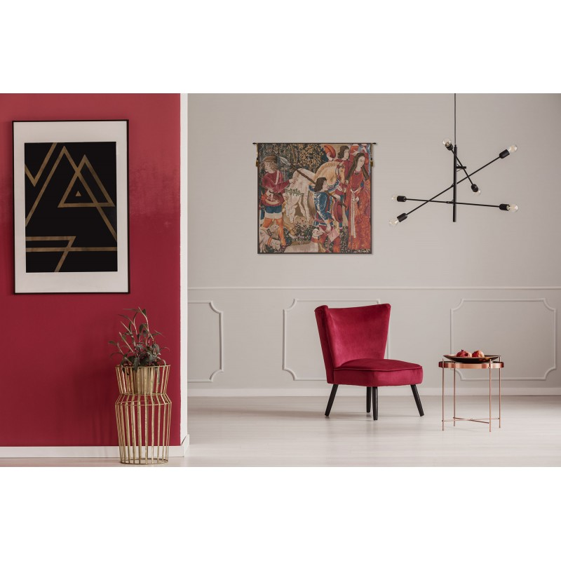 French tapestry wall hanging